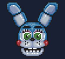 Adventure Toy Bonnie - FNAF World - Pixel Art Kids Tee