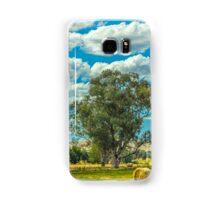 Harvesting Hay Australia Samsung Galaxy Case/Skin