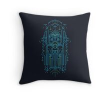 Justitia (Lady Justice) Throw Pillow