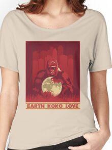 Earth Koko Love Women's Relaxed Fit T-Shirt