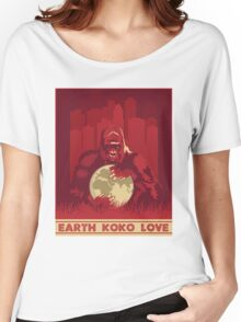 Earth Koko Love Women's Relaxed Fit T-Shirt