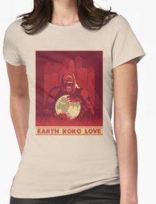 Earth Koko Love Womens Fitted T-Shirt