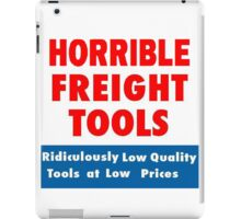 Horrible Freight Tools iPad Case/Skin