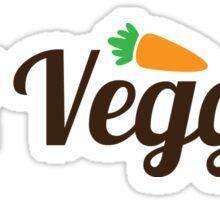 Eat Veggies Sticker