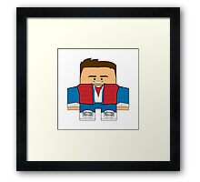 Back to the Future - Marty McFly (Past) Framed Print