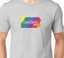 Bernie Sanders 2016 State Pride - Pennsylvania Unisex T-Shirt