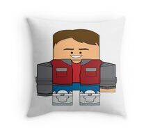 Back to the Future - Marty McFly (Future) Throw Pillow