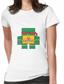 TMNT - Raphael Womens Fitted T-Shirt