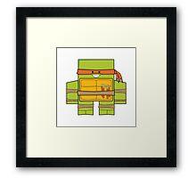 TMNT - Michelangelo Framed Print