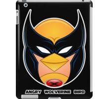 Angry Wolverine Bird iPad Case/Skin