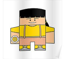 Mighty Morphin Power Rangers - Trini (Yellow Ranger) Poster