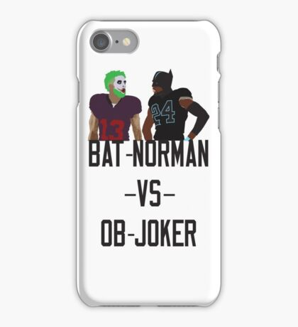 Bat-Norman vs OB-Joker iPhone Case/Skin