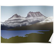 Cradle Mountain by Anne Winkler Poster
