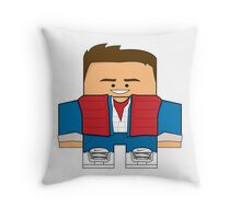 Back to the Future - Marty McFly (Past) Throw Pillow