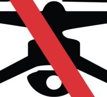 No Drone Zone Sticker
