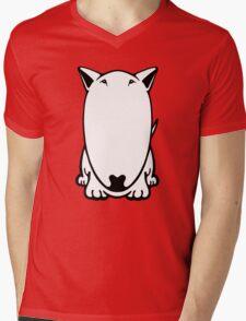 Mini Bull Terrier  Mens V-Neck T-Shirt