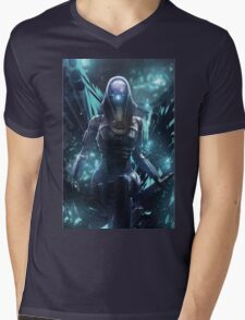 Mass Effect - Tali'zorah Vas Normandy Mens V-Neck T-Shirt