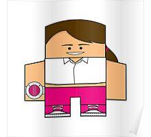 Mighty Morphin Power Rangers - Kimberly (Pink Ranger) Poster