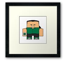 Mighty Morphin Power Rangers - Tommy (Green Ranger) Framed Print