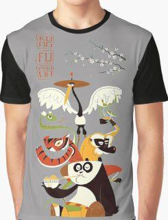 Kung Fu Panda 3 Graphic T-Shirt