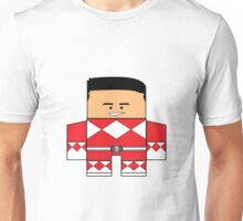 Mighty Morphin Power Rangers - Red Ranger Unmasked (Jason) Unisex T-Shirt