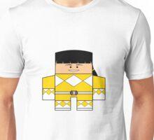Mighty Morphin Power Rangers - Yellow Ranger Unmasked (Trini) Unisex T-Shirt