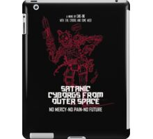 Satanic Cyborgs From Outer Space iPad Case/Skin