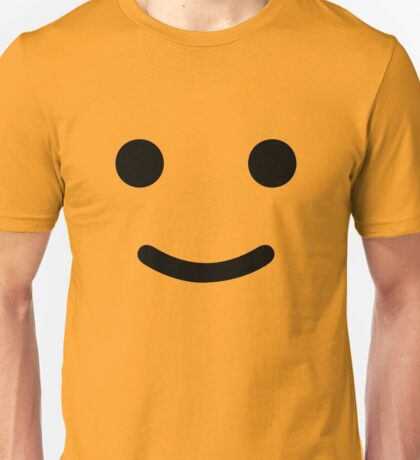 Happy Smiley Face Toy Figure Unisex T-Shirt