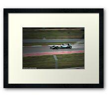 Mercedes F1 Framed Print