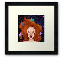Star Girl Framed Print