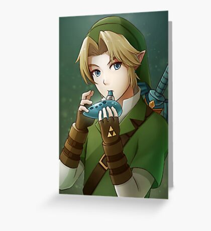 [The Legend of Zelda] Link Greeting Card