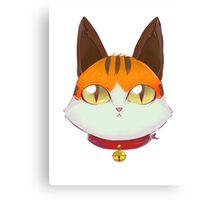 Coeurl Kitten- FFXIV Canvas Print