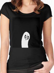 Pixel Art Undertale Design Women's Fitted Scoop T-Shirt
