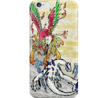 Pokemon Ho-Oh & Lugia Ink Painting iPhone Case/Skin
