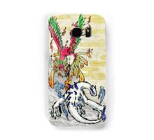 Pokemon Ho-Oh & Lugia Ink Painting Samsung Galaxy Case/Skin