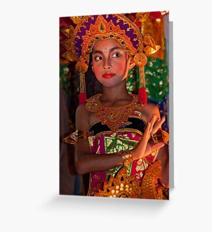 Balinese Dancer 5 Greeting Card
