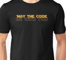 Geekit - IT shirts - May The Code Be With You Unisex T-Shirt