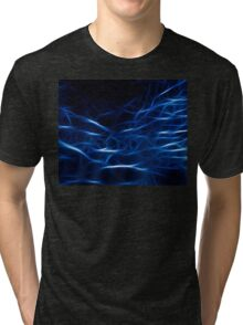 Matrix Blue Tri-blend T-Shirt