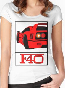 F40 Women's Fitted Scoop T-Shirt