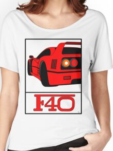 F40 Women's Relaxed Fit T-Shirt