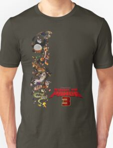kung fu panda 3 movie T-Shirt