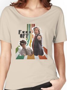 Douglas Denholm and Maurice Moss - F*** Off Women's Relaxed Fit T-Shirt