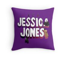 AKA JJ Throw Pillow