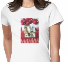 Love Is The Dessert of Life Womens Fitted T-Shirt