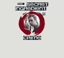 Super Hans - The Secret Ingredient Is Crime T-Shirt