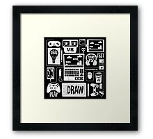 It's a Game Dev World Framed Print