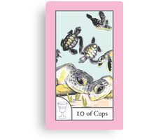 10 of Cups from The BirdQueen Tarot Canvas Print