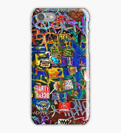 Graffiti #9 iPhone Case/Skin