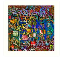 Graffiti #9 Art Print