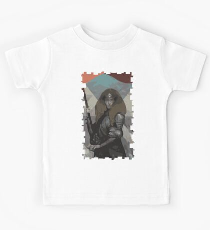 Female Human Tarot Card Kids Tee